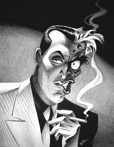 Two Face by Bruce Timm. Bruce Timm is the best.
