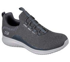 Go Walk Max-Amazing, Baskets Homme, Gris (Charcoal/Black), 40 EUSkechers