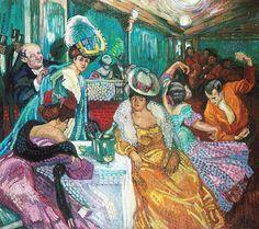 Night Cafe I, 1905-06 by Axel Törneman (Swedish 1880-1925)