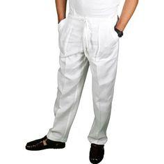Big & tall, Linen pants and Pants on Pinterest
