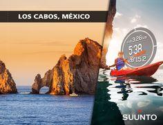 Suunto Adventure. Uno delos mejores lugares en México para practicar #Kayak es Los Cabos.