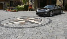 Don't settle for an ordinary paved driveway. How about creating a work of art using Unilock Richcliff pavers? With an average comprehensive strength rating of up to 4 times the strength of conventional poured concrete, Richcliff is a virtually indestructible paver that will not split, crack or fade.