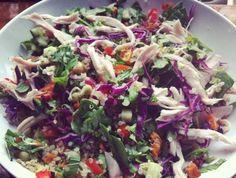 Recipes - Chicken and Quinoa Salad