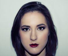 Gold and black liner. Kimmy Cattin Makeup Kimmy _Mua. Mac. Mac cosmetics