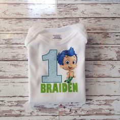 Bubble Guppies shirt Bubble guppies by MyHeartnSoulBoutique
