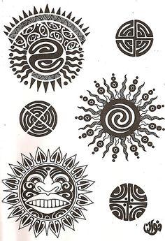 7 Mejores Imágenes De Símbolos Maoríes Maori Signs Y Blinds