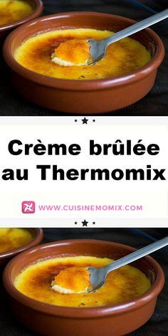 Crème brûlée au Thermomix - Expolore the best and the special ideas about French recipes Best Creme Brulee Recipe, Vegan Creme Brulee, Desserts Français, Thermomix Desserts, Traditional French Desserts, Taste Restaurant, Macaron Flavors, Vegetarian Entrees, Recipes