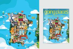 Cover illustration for Going Place, an on-flight magazine of Malaysia Airlines. This issue was about the culture delight in George Town, Penang.Art direction: Euric Liew