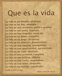 Sayings in Spanish. Learn about popular sayings and proverbs in Spanish The Words, More Than Words, Quotes En Espanol, Little Bit, Spanish Quotes, Motivation, Life Lessons, Favorite Quotes, Me Quotes