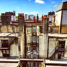 Rooftops of Marylebone. London