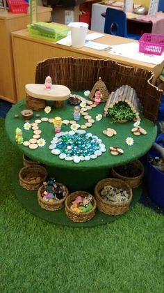 Fairy land small world loose parts invitation to play activities for toddlers eyfs Play Based Learning, Learning Through Play, Early Learning, Reggio Emilia Classroom, Classroom Displays, Mini Mundo, Curiosity Approach, Preschool Garden, Preschool Centers