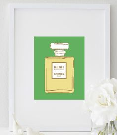 COCO Chanel Print. Get your gallery wall started