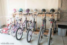 Bike & Helmet Rack DIY