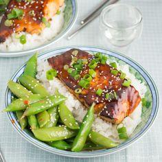 ... Salmon Recipes) on Pinterest   Salmon, Grilled salmon and Glazed