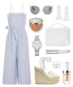 """Brunch"" by tasha-m-e ❤ liked on Polyvore featuring J.Crew, Paloma Barceló, Mark Cross, Marc Jacobs, Christian Dior, Givenchy, Charlotte Russe and Tommy Hilfiger"