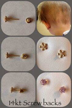 14 Best Screw Back Earrings For Babies Toddlers And Childrens