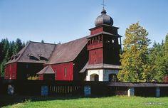 Slovakia, Wooden Church Liptovský Svätý Kríž
