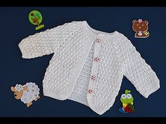 Crochet jacket for boy and girl Baby Cardigan Knitting Pattern Free, Crochet Baby Jacket, Crochet Baby Sweaters, Gilet Crochet, Crochet Coat, Crochet Baby Clothes, Baby Blanket Crochet, Baby Knitting, Baby Pullover