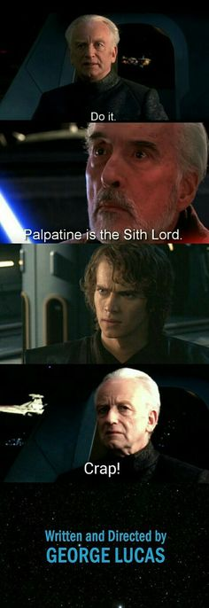 How it should have ended    Chancellor Palpatine is the Sith Lord