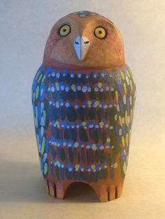 Ceramic Owl by Eve Howard