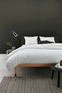 Auping Pleated White #aupingde #bett #bed #bettwäsche #bedlinen #schlafzimmer #bedroom #boxspringbett #boxspring