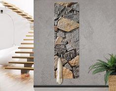 AuBergewohnlich #Wandgarderobe In Steinoptik   Granitic Wall   Garderobe Modern #Flur  #Gestaltung #Diele