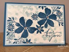 blooms and wishes inspiring inkin stampin' up! UK - 1 copy