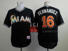 http://www.xjersey.com/marlins-16-fernandez-black-cool-base-jerseys.html MARLINS 16 FERNANDEZ BLACK COOL BASE JERSEYS Only $34.00 , Free Shipping!