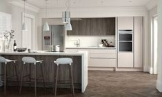 Buy true handleless kitchens from our large range online Our true handleless kitchen units are from suppliers such as Second Nature, Burbidge and Uform Kitchen Units, Open Plan Kitchen, Kitchen Ideas, Kitchen Cabinets, Kitchen Laminate, Kitchen Worktops, Granite Kitchen, Ikea Kitchen, Kitchen Living