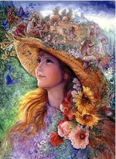 "Jigsaw Puzzles 1000 Pieces ""The past summer""/ Josephine Wall / Anatolian #Anatolian"