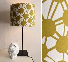 Un tissu avec des formes géométriques DIY