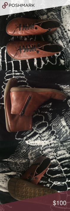 Rad CAMPER brown boots Slightly worn CAMPER medium brown leather boots Camper Shoes Ankle Boots & Booties