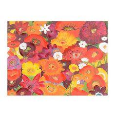 "Bursting Blossoms Canvas Art Print $60 32""x24"""