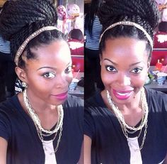 Marley twists: natural hair protective style @msnaturallymary