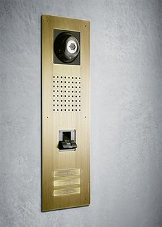 Siedle Classic video door station with finger print access