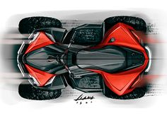 A sport ATV sketch on Behance