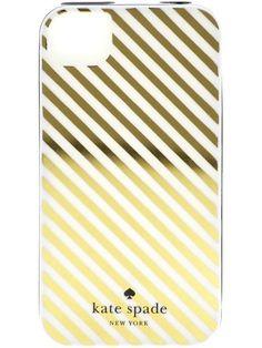 Kate Spade Diagonal Stripe iPhone Case