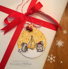 https://flic.kr/p/zWAW1n | Merry Christmouse | See more at www.pinkinkoriginals.blogspot.com