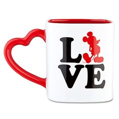 ''LOVE'' Mickey Mouse Mug Item No. 6551039731519P Read All Reviews (2) Our Price: $10.50