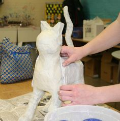 Mrs. Macre's Art Class: Plaster ... Great art blog!