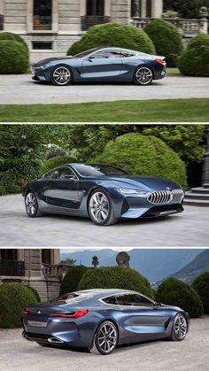 BMW let us have a taste of what's to come on a stretch of gravel lane leading to Villa Erba shortly after the 8 Series Concept was unveiled at the 2017 Concorso d'Eleganza Villa d'Este