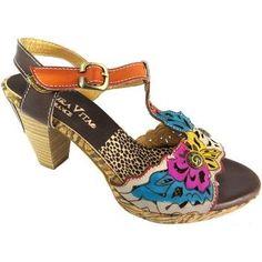 6575539fd46 Laura Vita vetue womens Choco high heel leather ankle strap open toe sanda  women s Sandals in