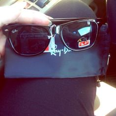 Ray-ban wayfarer Black ray bans - good quality not authentic I can also get many other styled raybans as pictured above if you see something youd like I can make another listing. No trades Ray-Ban Accessories Sunglasses