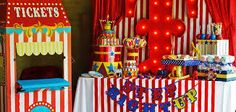 Image result for outdoor circus decor
