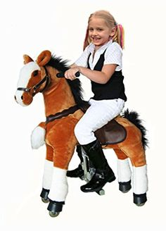 Baby Toys Sale, Baby Rocking Horse, Black Friday Toy Deals, Pony Rides, Mane N Tail, Presents For Kids, Kids Ride On, Ride On Toys, 9 Year Olds