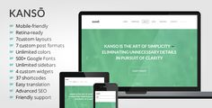 See More Kanso - Clean One-Page Parallax WordPress Themeso please read the important details before your purchasing anyway here is the best buy