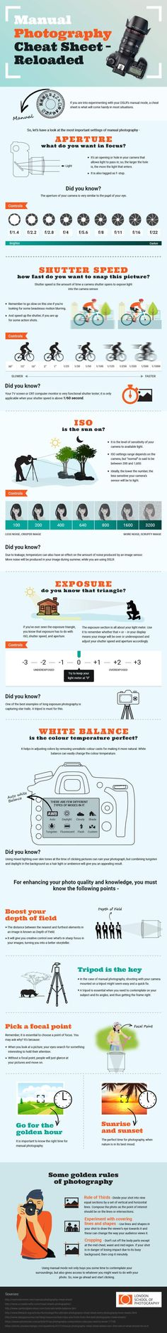 Photography cheat sheet helps you take better photos -You can find better and more on our website.Photography cheat sheet helps you take better photos - Photography Cheat Sheets, Landscape Photography Tips, Photography Basics, Photography Lessons, Photography Business, Photography Tutorials, Digital Photography, Nature Photography, Photography Settings