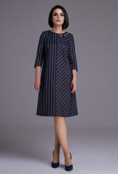 Collections of women's clothing fall-winter from the company Jerusi. Belarusian knitwear for fall-winter Fashion catalog Elegant Outfit, Classy Dress, Classy Outfits, Winter Dresses, Casual Dresses, Short Dresses, African Fashion Dresses, Fashion Outfits, English Dress