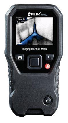 FLIR MR160 jest pierwszym modelem tego rodzaju. MR 160 z wbudowaną kamerą termowizyjną. To jedyny wilgotnościomierz, który pokazuje, gdzie leży problem. MR 160 z technologią pomiaru wspomaganego podczerwienią (Infrared Guided Measurement – IGM) pozwala szybko skanować i wskazywać problemy związane z wilgocią