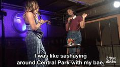 New trendy GIF/ Giphy. bae jessica williams 2 dope queens phoebe robinson i was like sashaying around central park with my bae. Let like/ repin/ follow @cutephonecases
